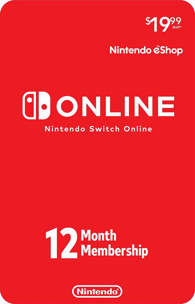 Picture of Nintendo Switch Online 12-Month Individual Membership