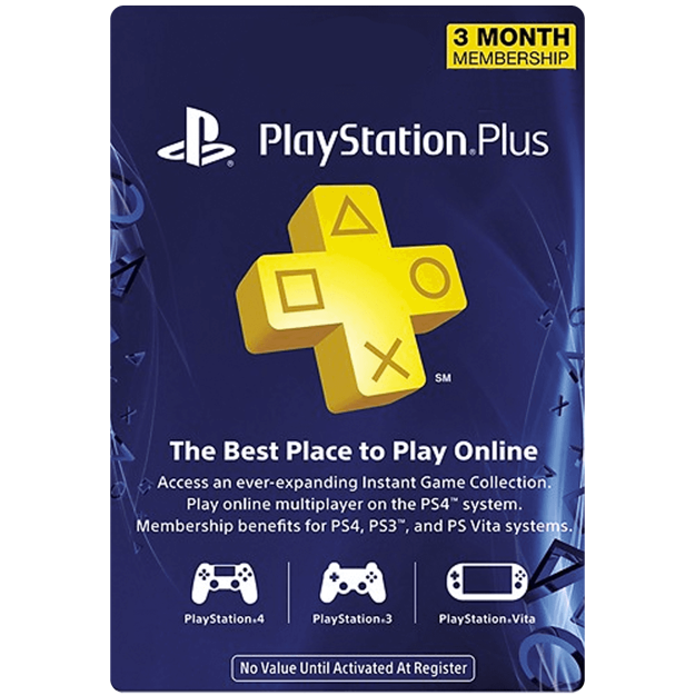 Picture of 3 Month PlayStation Plus Membership (US)