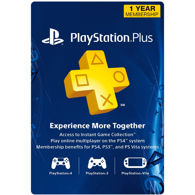Picture of 12 Month PlayStation Plus Membership (US)