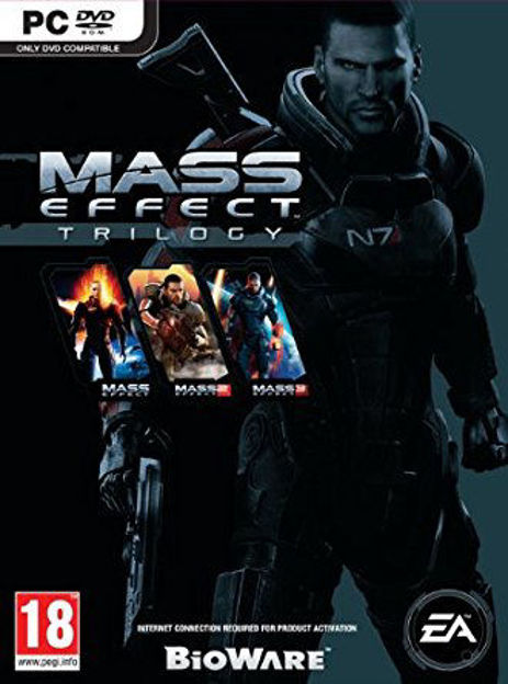Picture of Mass Effect Trilogy Origin CD Key