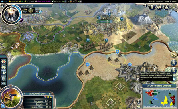 Picture of Sid Meier's Civilization V - Gods and Kings Expansion Steam CD Key