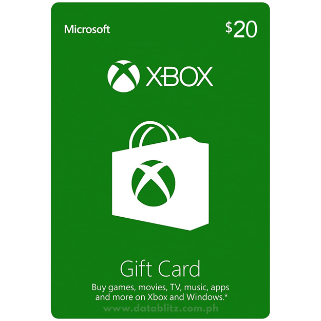 Picture of Xbox $20 Gift Card (US)