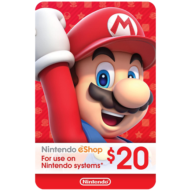 Picture of $20 Nintendo eShop Card