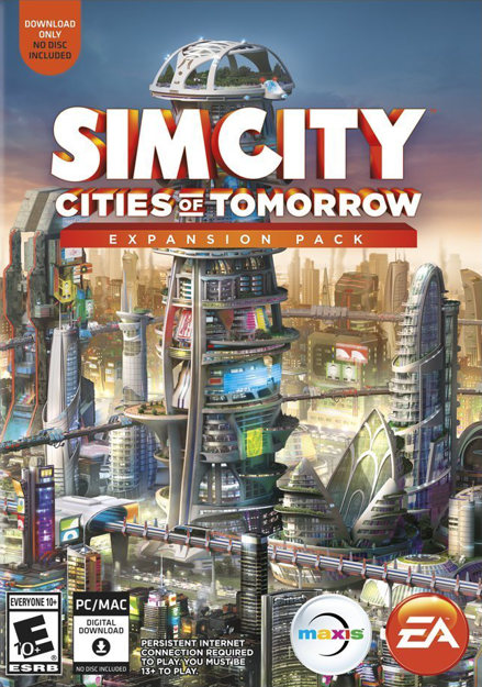 Picture of SimCity Cities of Tomorrow Expansion Pack Origin CD Key