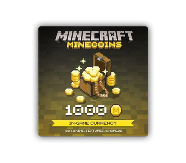 Picture of Minecraft Minecoin Pack: 1000 Coins Gift Card XBOX One CD Key
