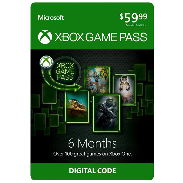 Picture of 6 month Xbox Game Pass