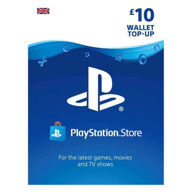 Picture of PlayStation Store £10 Gift Card