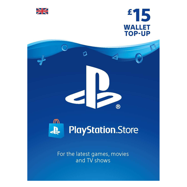 Picture of PlayStation (PSN) £15 Gift Card