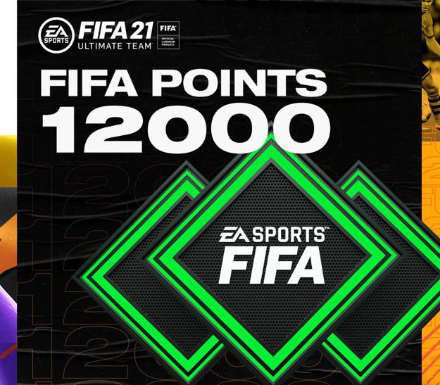Picture of FIFA 21 Ultimate Team - 12000 FIFA Points XBOX One CD Key