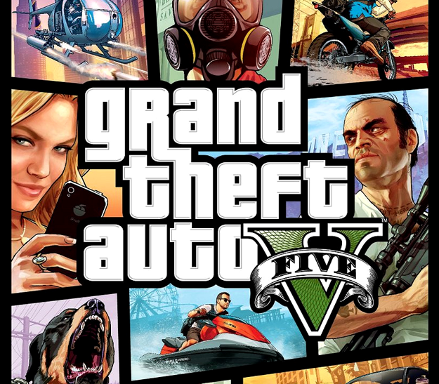 Picture of Grand Theft Auto V + Great White Shark Cash Card Rockstar Digital Download CD Key
