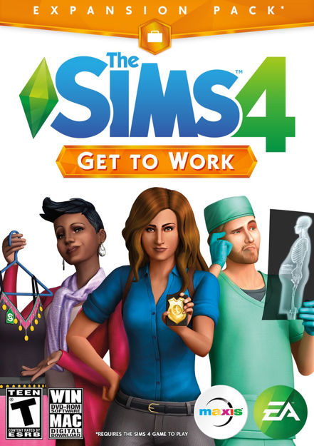Picture of The Sims 4 - Get to Work DLC Origin CD Key