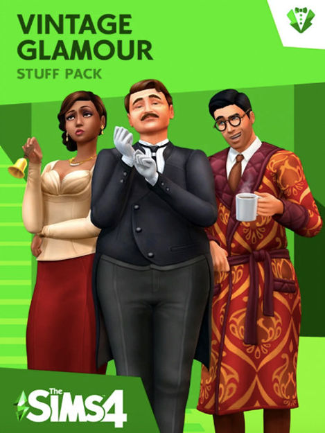 Picture of The Sims 4 - Vintage Glamour Stuff DLC Origin CD Key