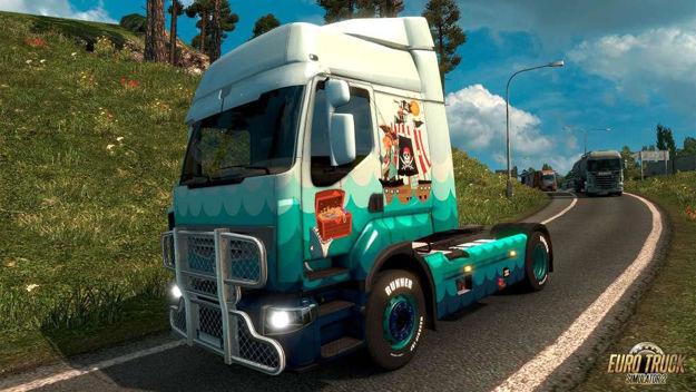 Picture of Euro Truck Simulator 2 - Pirate Paint Jobs Pack Steam CD Key