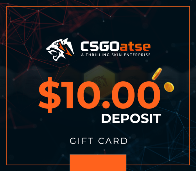 Picture of CSGOatse - $10 USD Gift Card